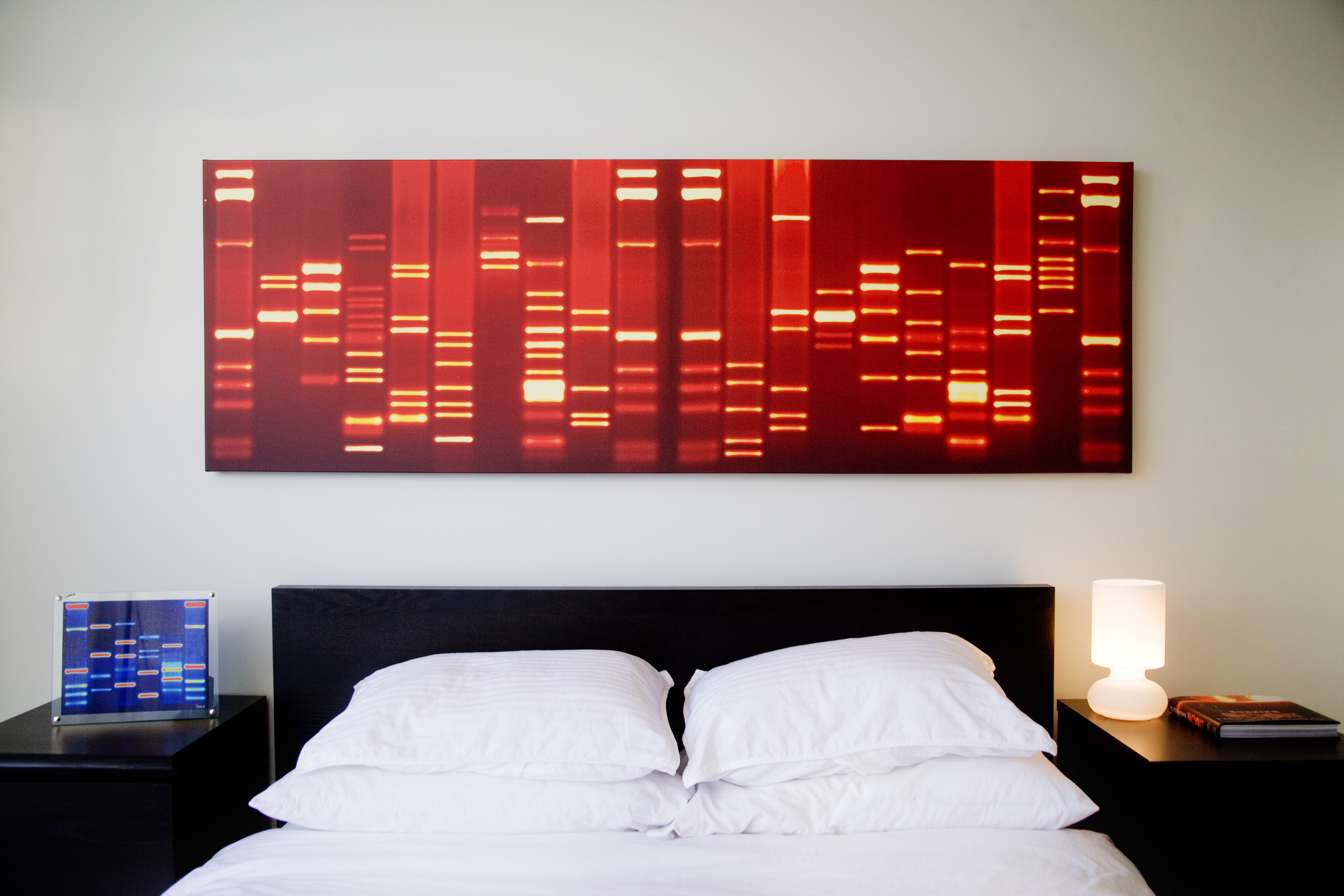 Immortalize your valentine as a piece of art for Personalized dna art