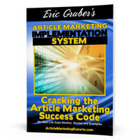 Cracking the Article Marketing Success Code