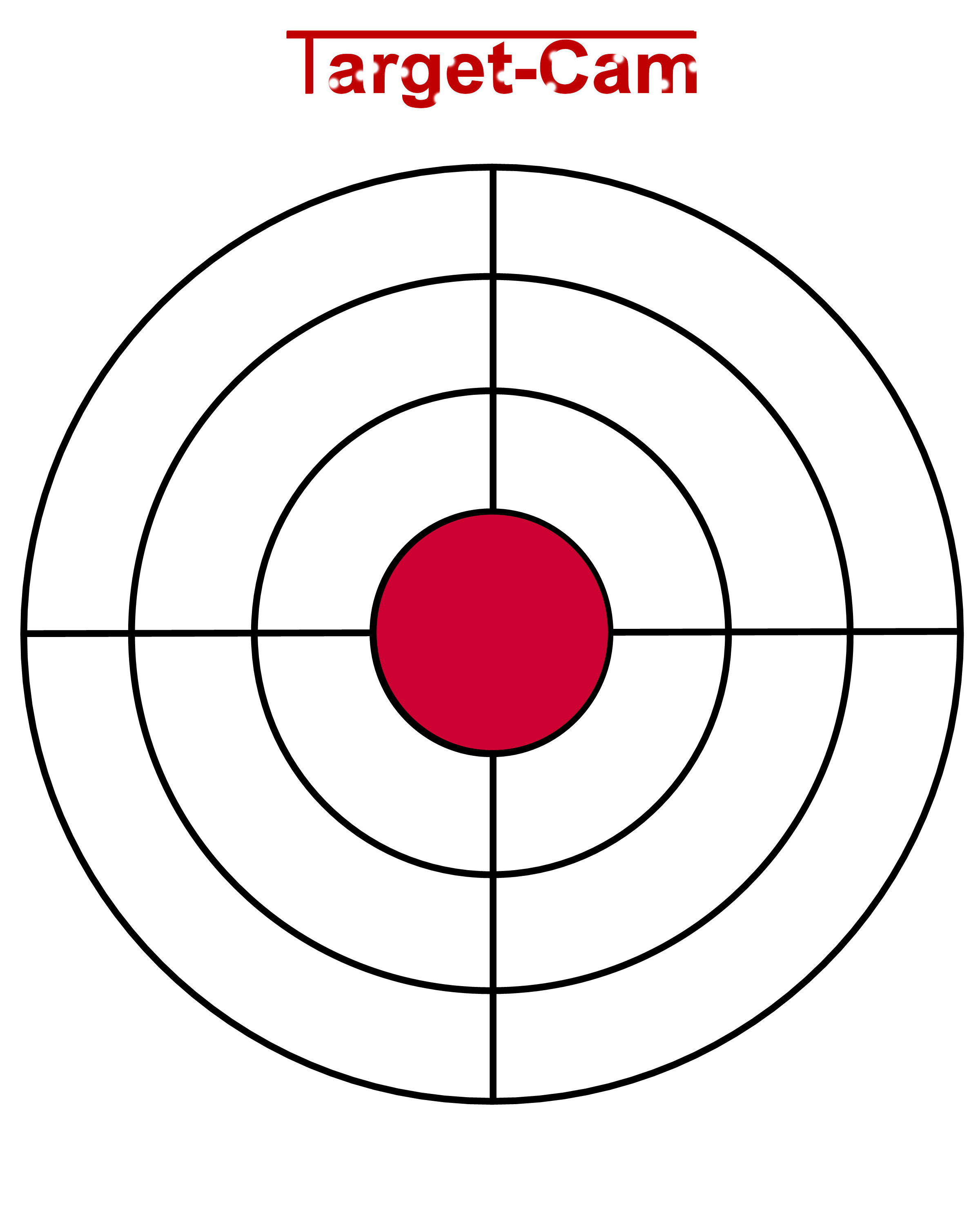 It is a photo of Massif Printable Bb Targets