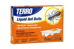 Get rid of ants with Terro Liquid Ant Baits