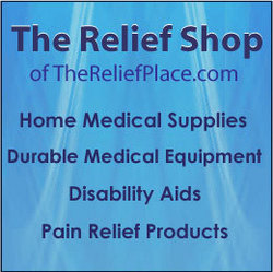 The Relief Shop - home medical supplies, durable medical equipment, disability aids, independent living aids and pain relief products.