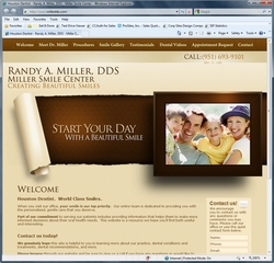 Dental Web Site Design