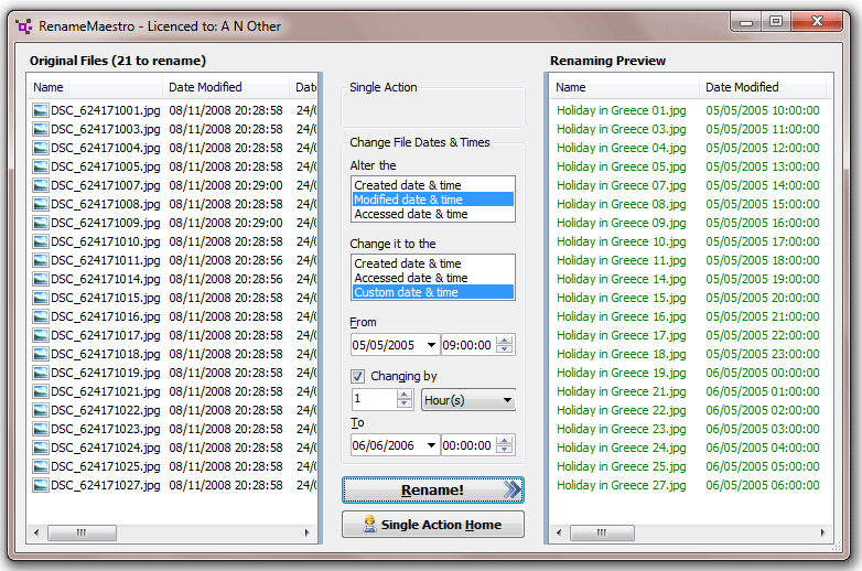 how to change the date created in soldworks