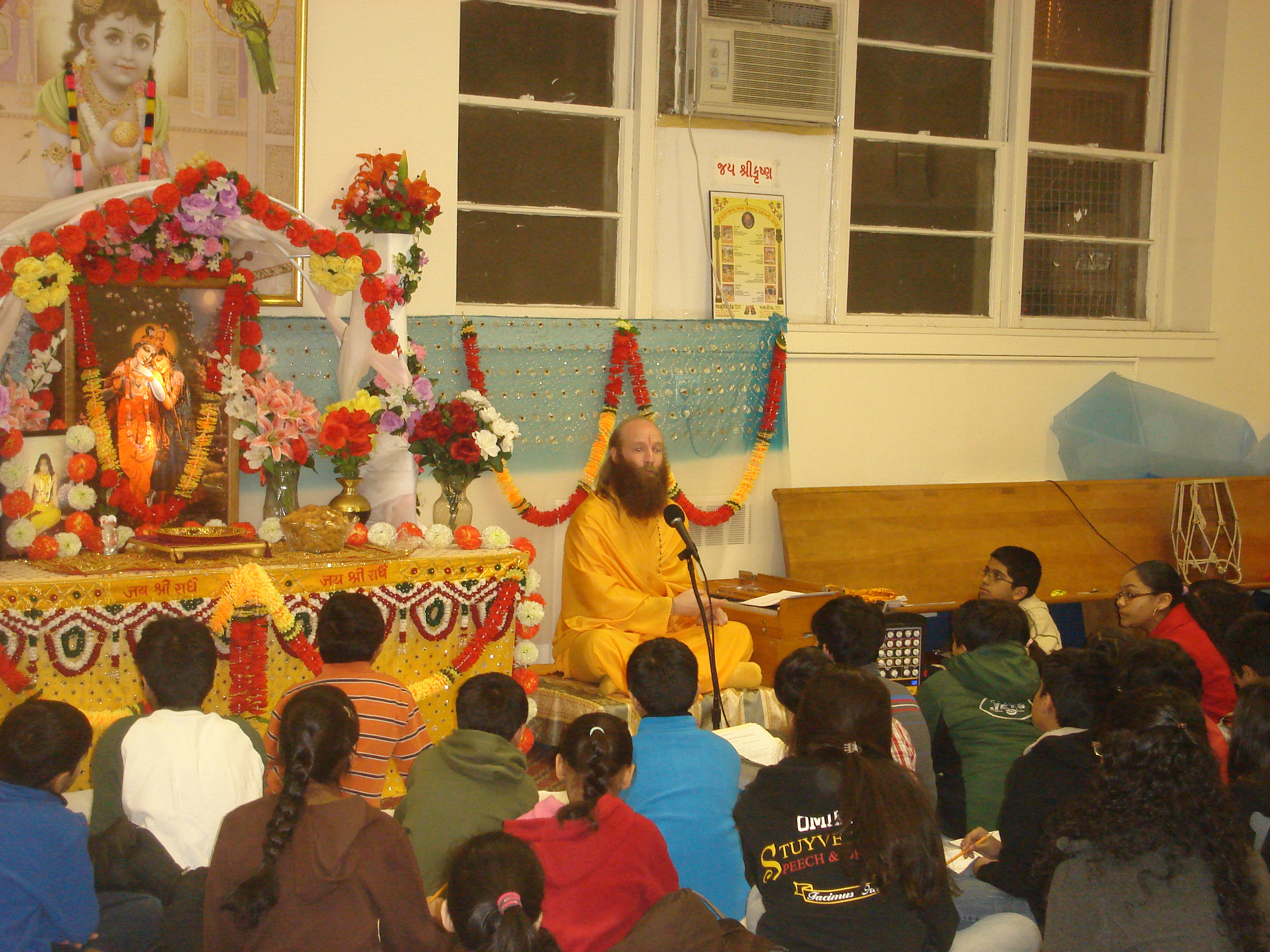 Swami Nikhilanandji pracharak of Shree Kripaluji Maharaj