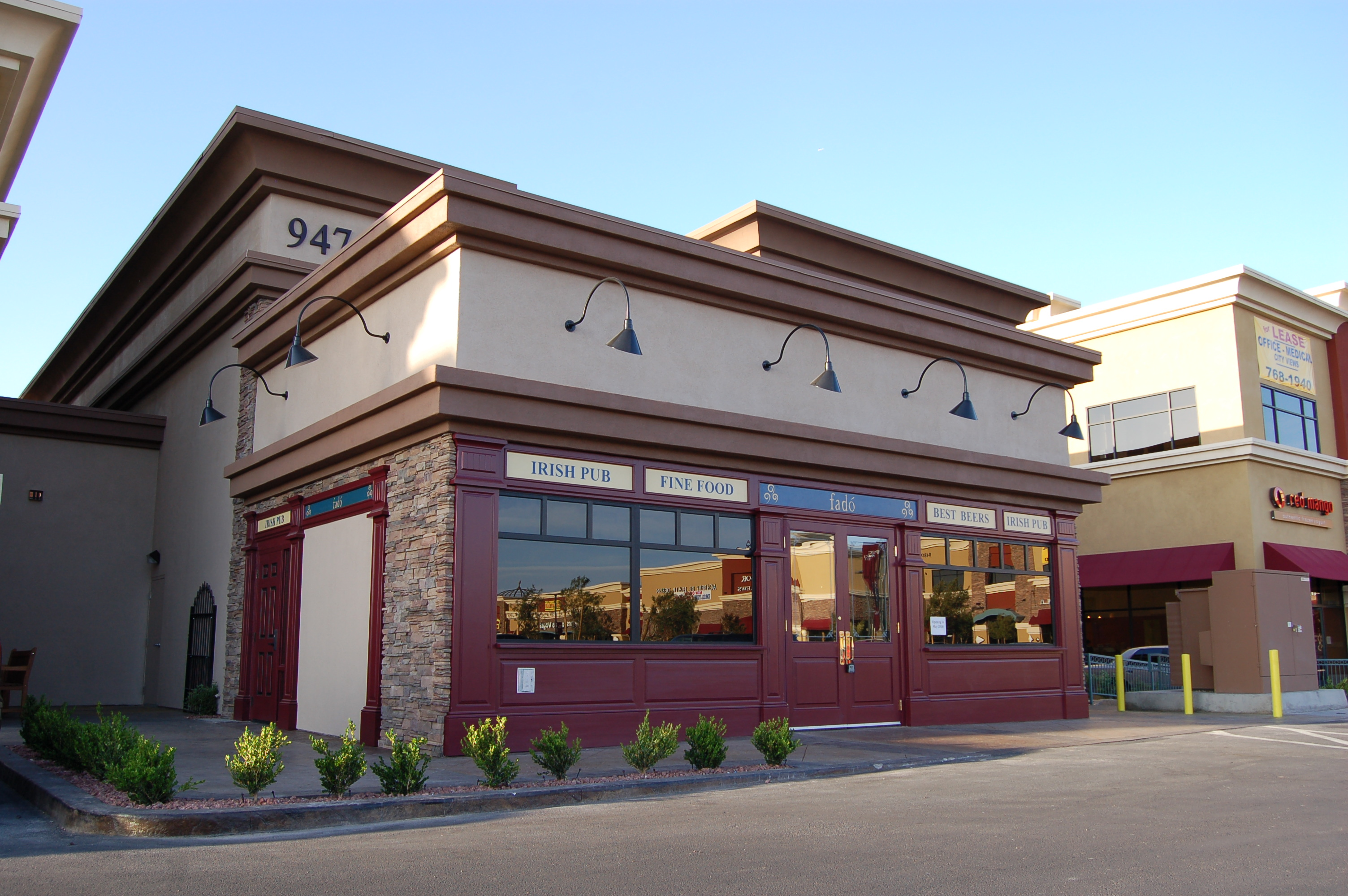 Exterior: Fadó Irish Pub & Restaurant Las Vegas Announces News About