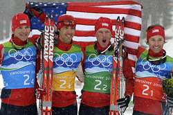 U.S. Nordic Combined 2010 Olympic Silver Medalist Team