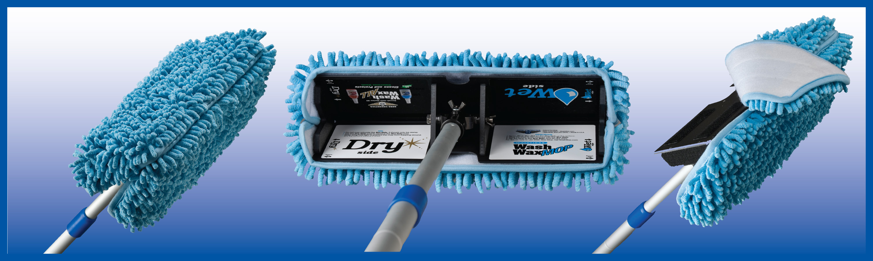 New Wash Wax Mop Advances Waterless Aircraft Cleaning