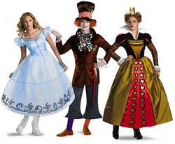 Costume SuperCenter Announces Presales of Tim Burton's Alice In Wonderland Costumes Coming Soon