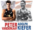 Peter Vanderkaay and Adolph Kiefer