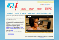 LetsMove.gov Website Challenges America to Tackle Childhood Obesity