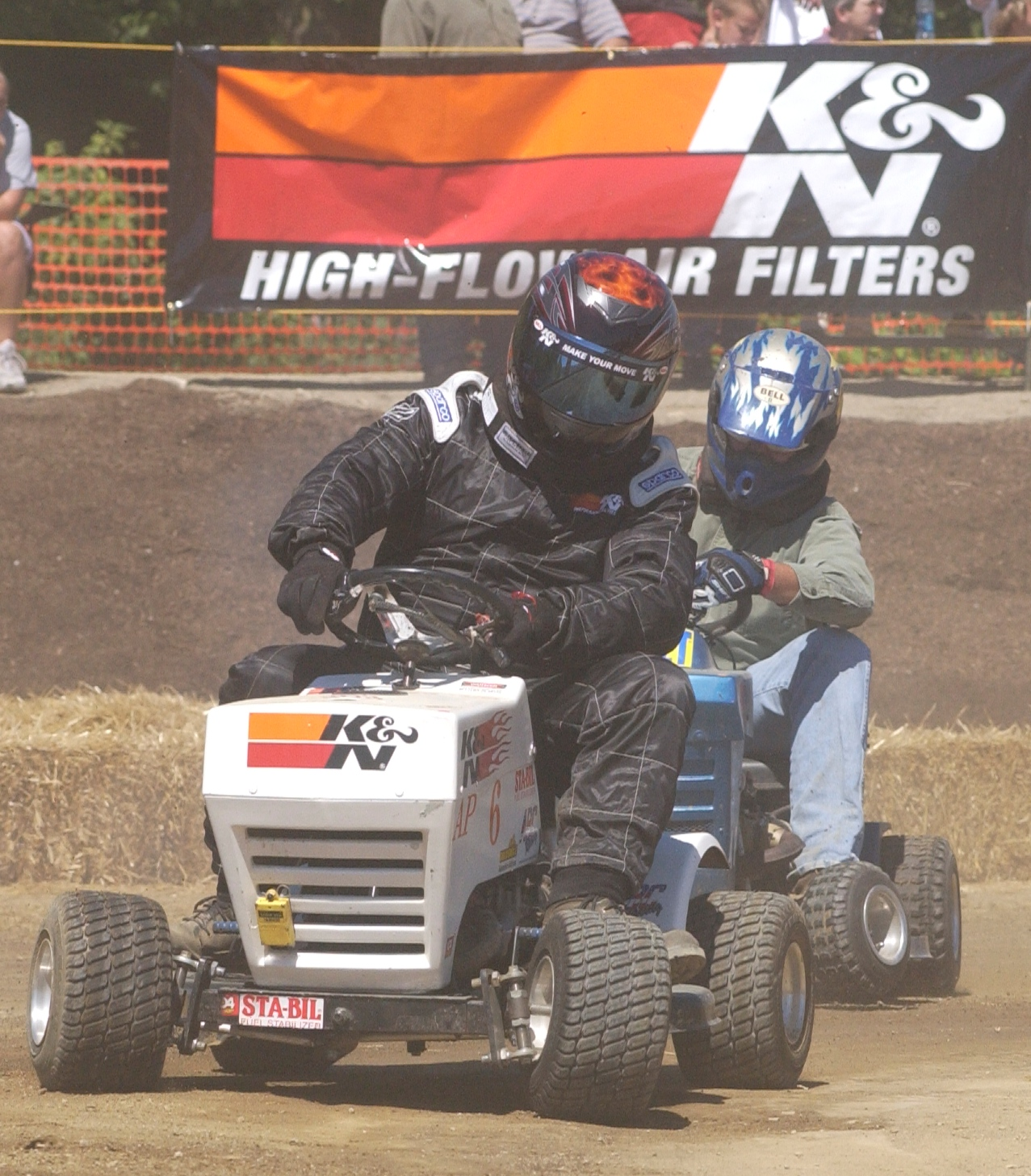 Lawn Mower Racing >> Lawn Mower Racing On First Day of Spring