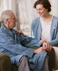 Professional caregivers who are highly trained and know what warning signs to look out for can be there to help
