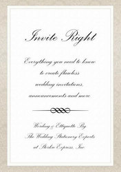 Wedding Invitations Wording & Announcements Etiquette: The Ultimate Guide