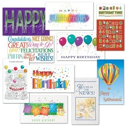 new business greeting cards and assortment packs from hammond, Birthday card