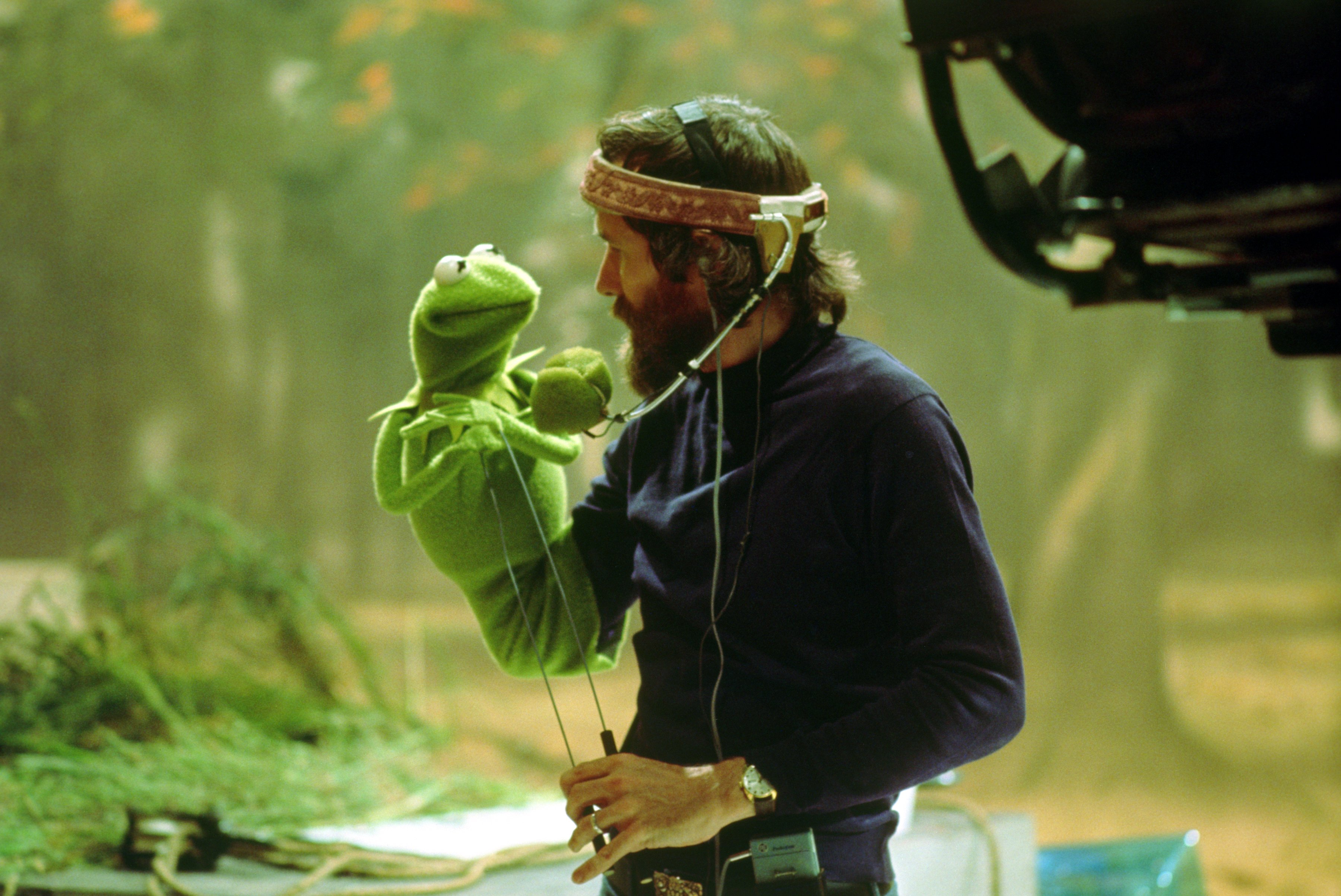 Because this is the Jim and Kermit picture we use.