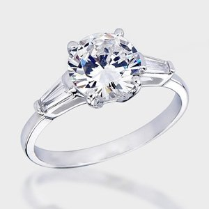 Trendy Cubic Zirconia Engagement Rings for 2011