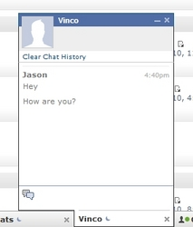 Facebook Style Chat