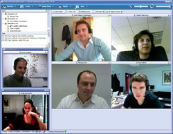 Video conferencing with WorkSpace3D