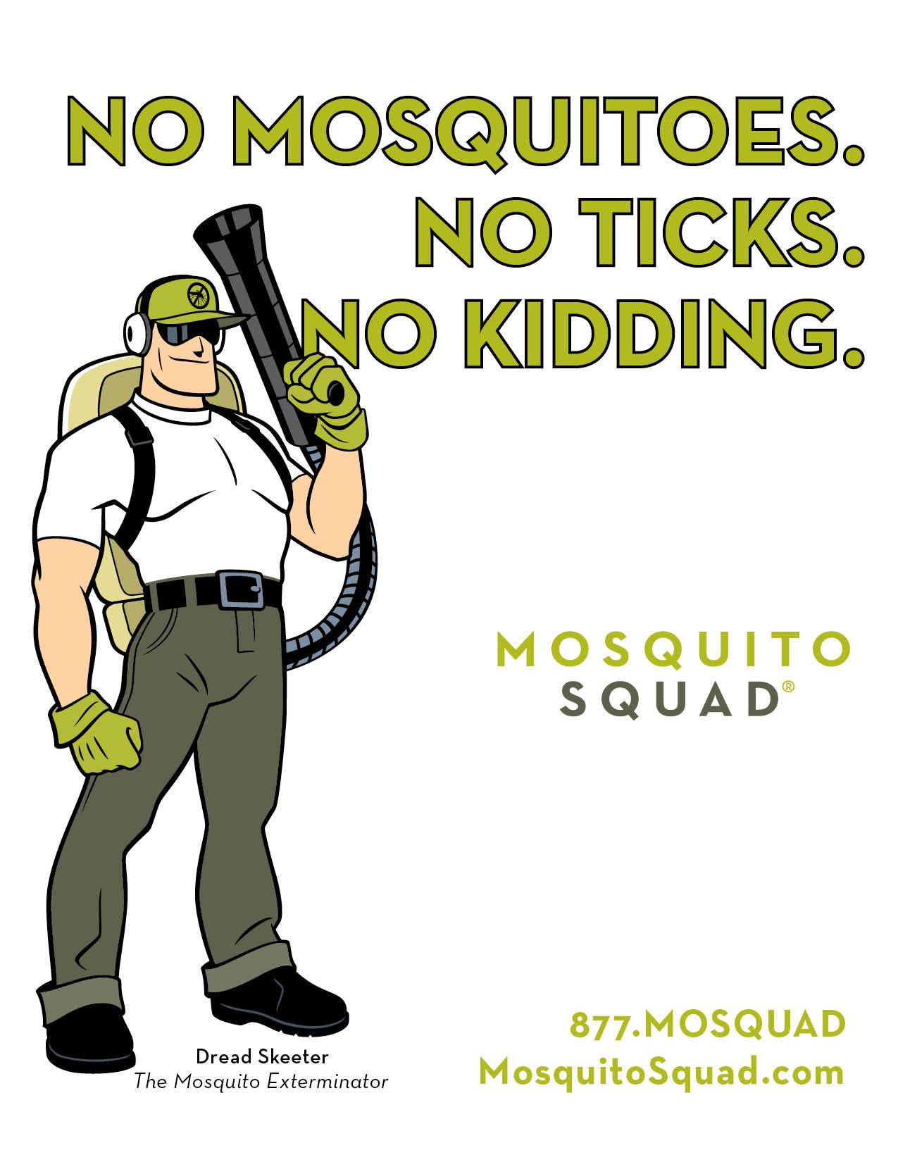 Mosquito Squad Launches New Mosquito Control Website