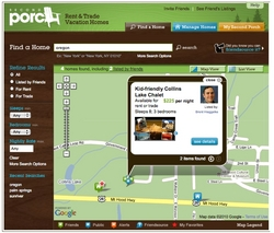 New social vacation rental site Second Porch features the first Facebook application for more trusted vacation rentals