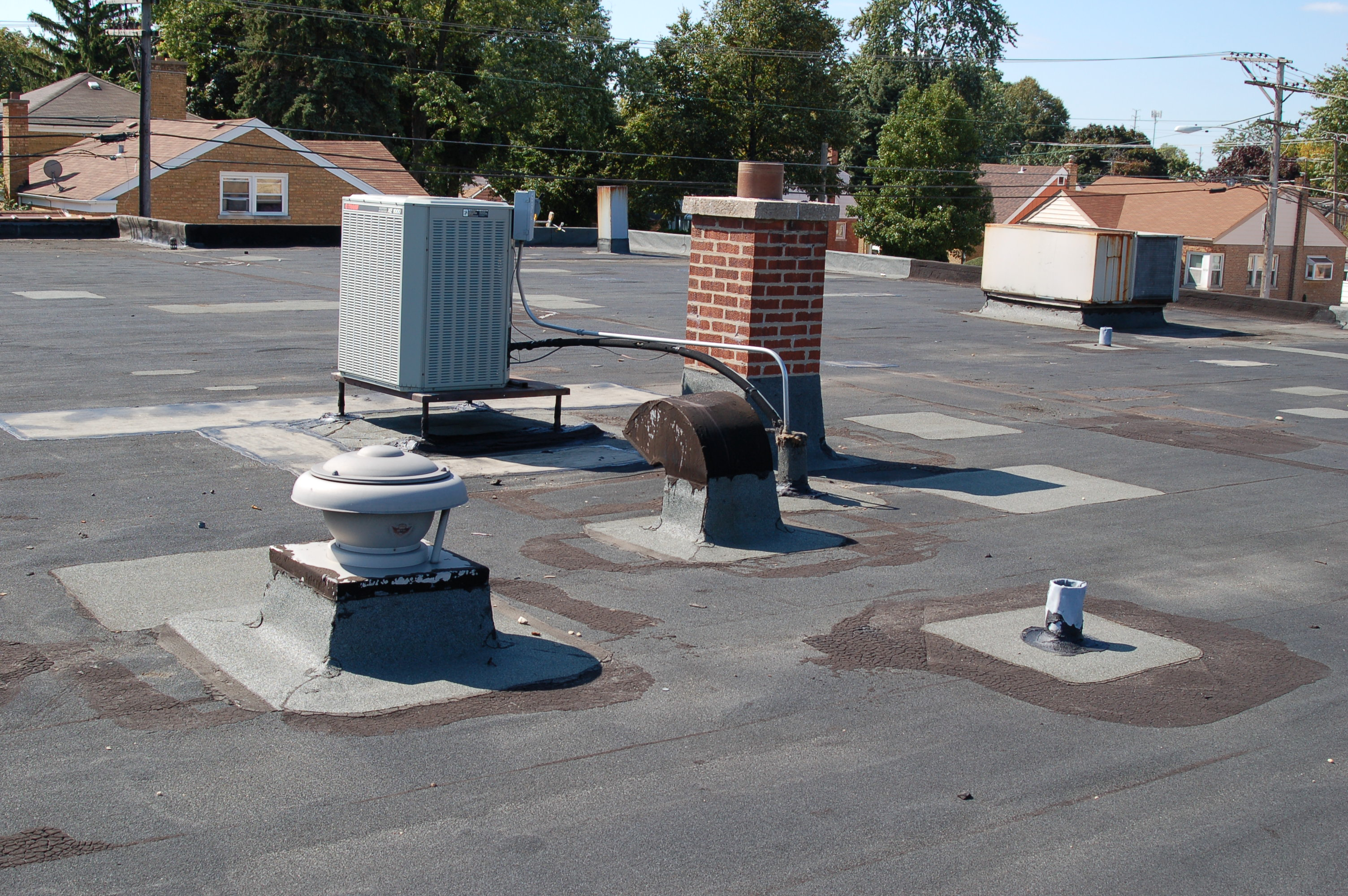 Sustainable Energy Saving Hydro Stop Flat Roof