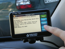 The M-Nav 760 Provides Fully Integrated Vehicle Tracking