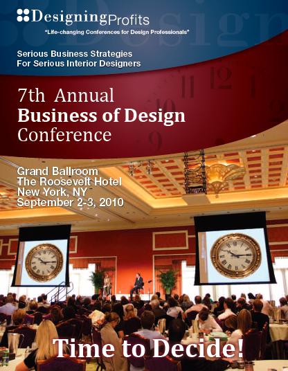 Media Business Of Design Conference Brochure