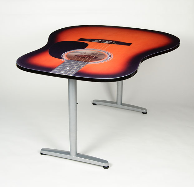 Music Furniture Sleep In A Piano Eat From A Guitar And