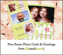 Easter Photo Cards from CardStore.com