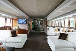 Carrousel Yacht , is designed specifically for luxury entertaining