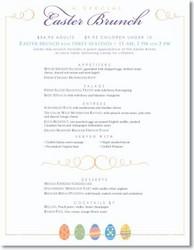 Musthavemenus announces restaurant promotion trends for for Easter brunch restaurant menus
