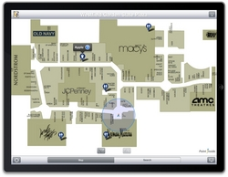 Leading iPhone® Mall Map App Point Inside Among First Apps ... on real estate app, employment app, mall maps windows phone 8,