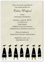 anticipating a whirlwind cap and gown season high school and college grads are already beginning the search for the perfect graduation party invitations to - College Graduation Invitation