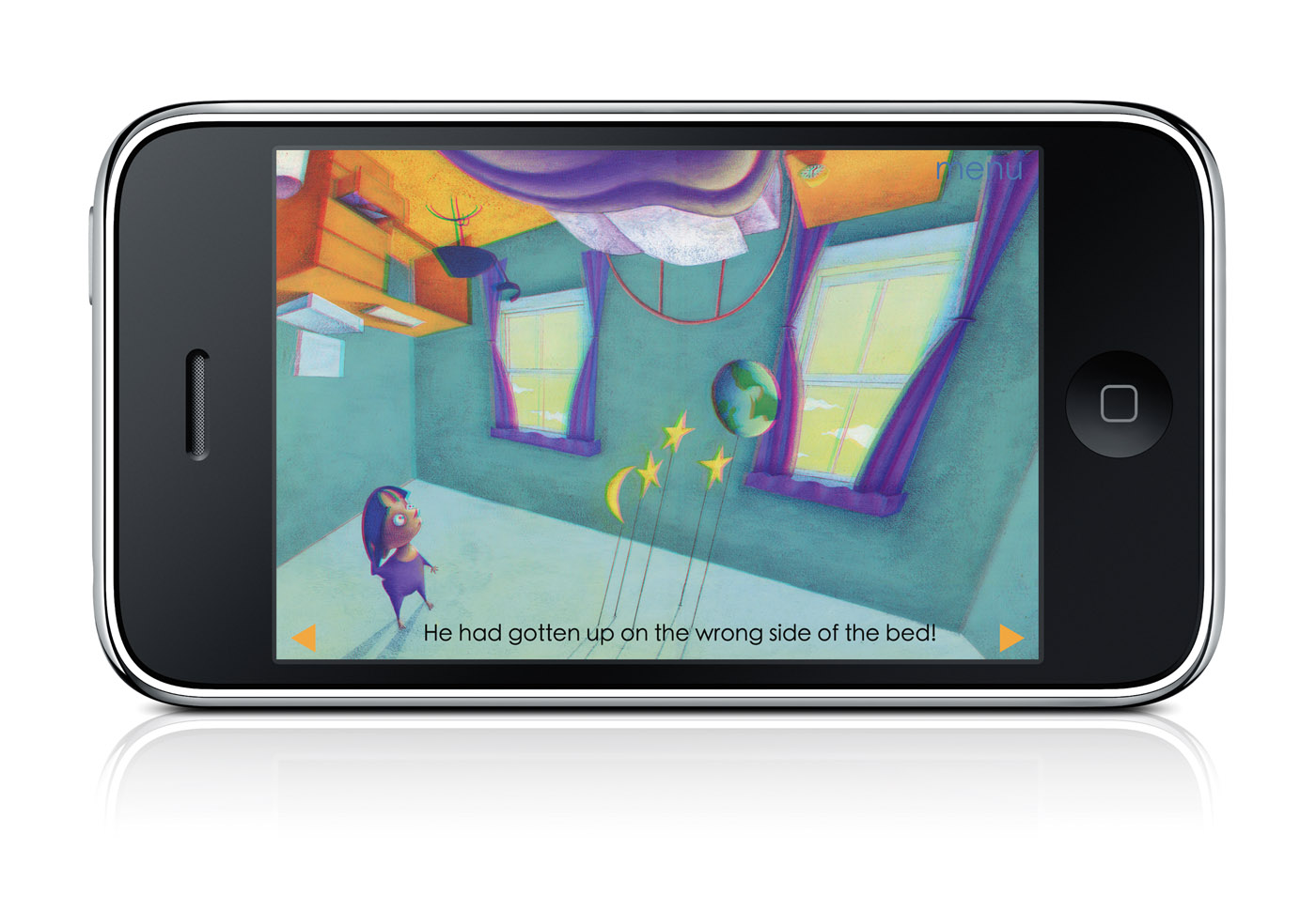 First 3D Storybook App For IPad And IPhone, 'The Wrong