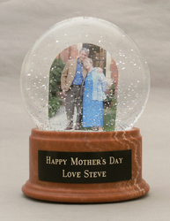 Unique Mothers Day Gifts Custom Personal Snow Globes