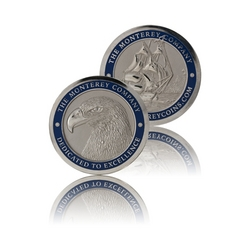 The Monterey Company custom lapel pins and coins