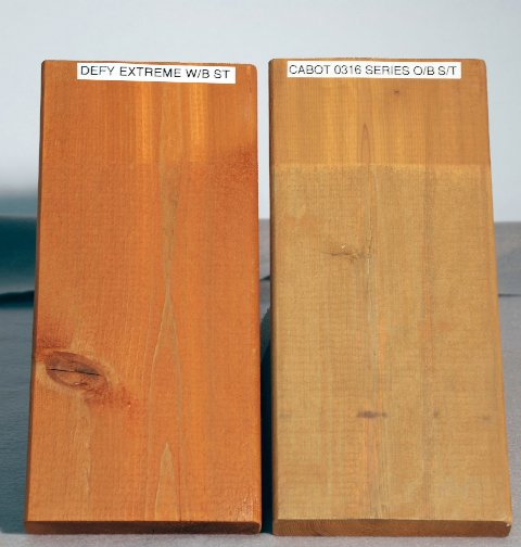New Defy Extreme Wood Stain - Environmentally Friendly with Nano-Technology