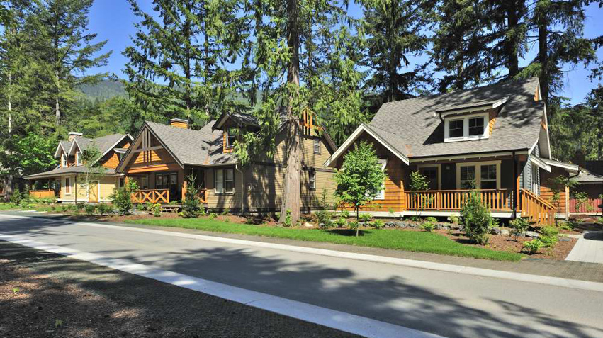 Developer of b c resort property the cottages at cultus for Cabins at cultus lake