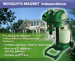 Mosquito Magnet Introduces Independence Mosquito Trap