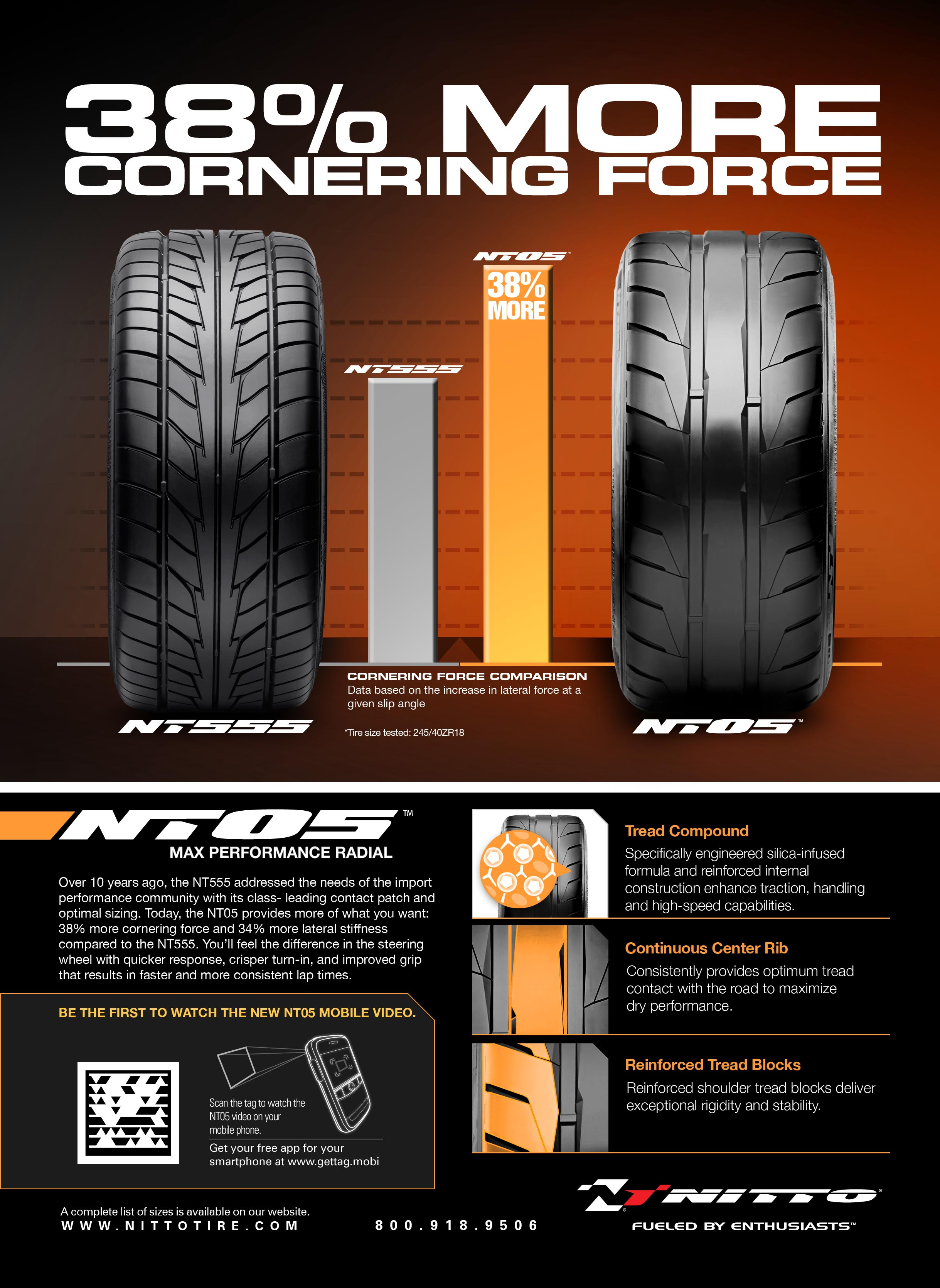 Mobile Tire Service >> Nitto Launches Integrated Print Campaign Utilizing ...