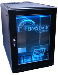 The TeraStack® Solution can be coupled with the Hie-DVR™ / Hie-NVR™