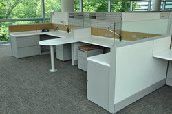 refurbished cubicles at a recent Ethosource project