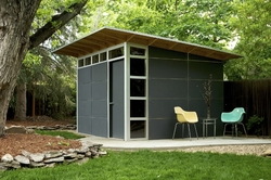 Studio Shed, modern shed, custom shed, prefabricated shed