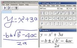 MoboMath for MathMagic equation editor