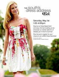 """May 1 Event to Showcase Belk as """"The South\'s Dress Address"""""""
