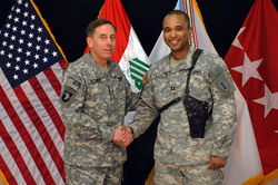Vietnamese american army captain builds military base in iraq highlighting the us asian pacific american heritage month of may vietnamese american us army captain james van thach was awarded the joint service sciox Gallery