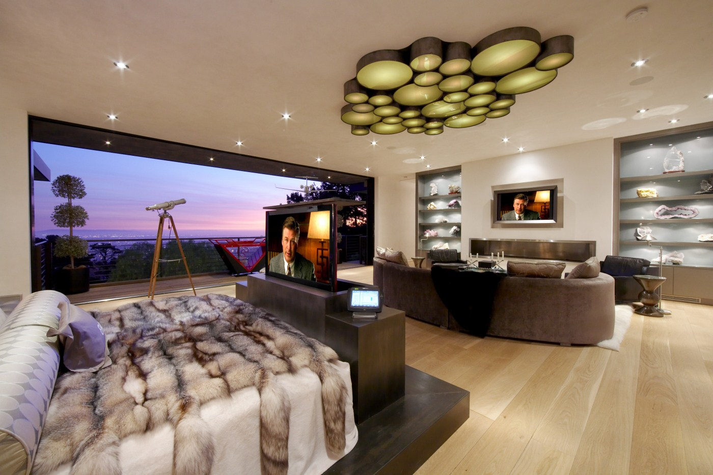 Dsi entertainment systems receives the consumer electronic for Bedroom ideas with tv