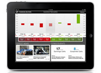Thomson Reuters Marketboard app: Intelligent Information You Can Touch