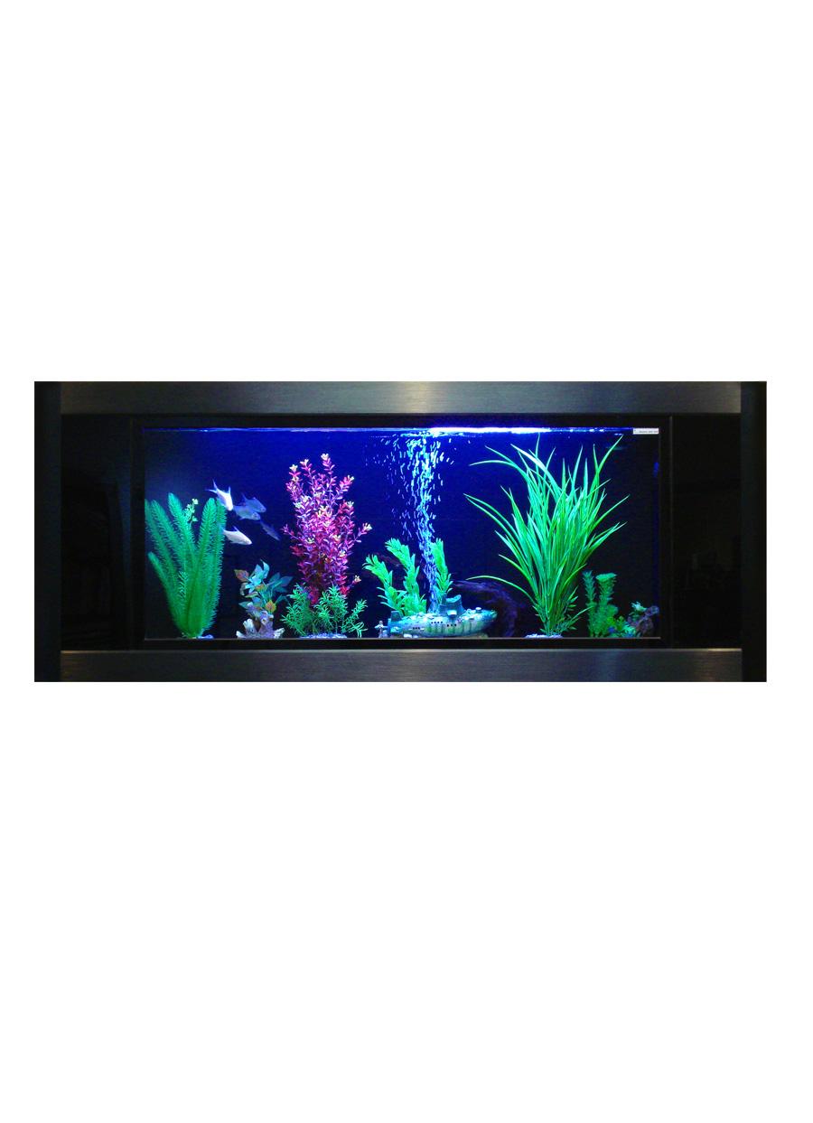 Bring Walls To Life With The Aquavista Panoramic Wall Aquarium