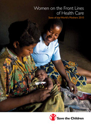 Female health workers can help save children's lives globally. Photo credit: Michael Biscegile